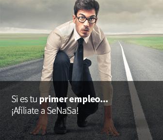 Si es tu primer empleo, afiliate a SeNaSa