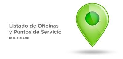 Listado de Oficinas y Puntos de Servicio