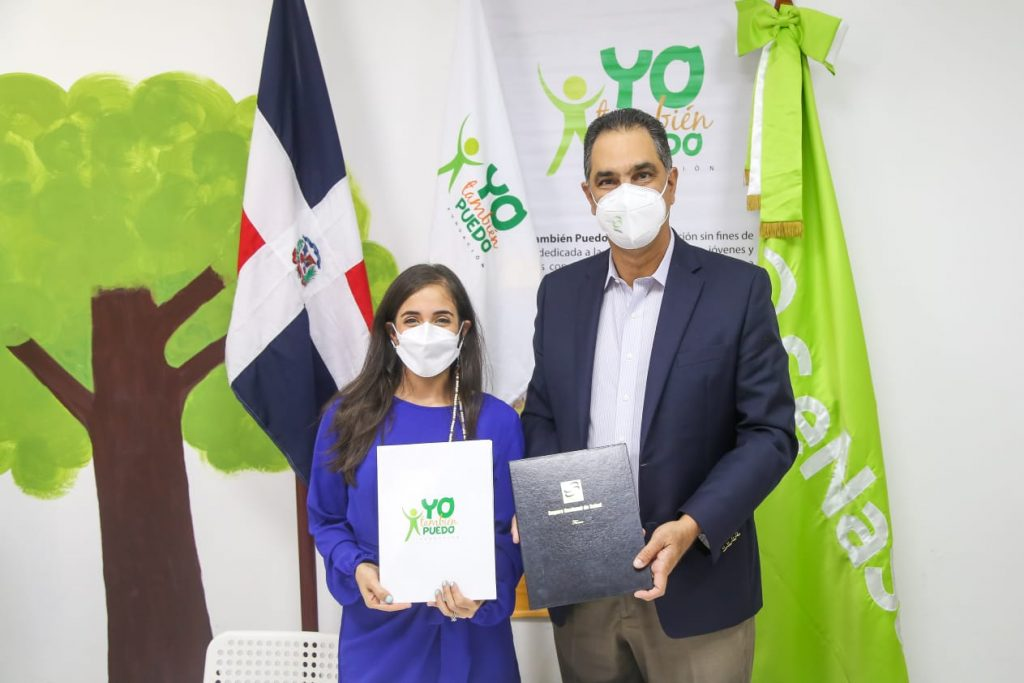 SeNaSa firma acuerdo con la Fundación Yo También Puedo