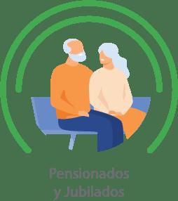 pensionados y jubilados